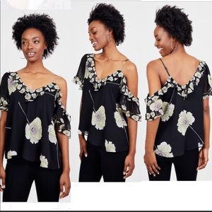 1 State shoulder cut out top